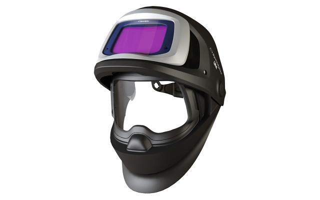 Máscara de soldar con cristal fotosensible.