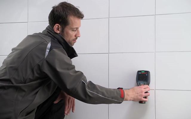 Detección de tuberías - escáner de pared