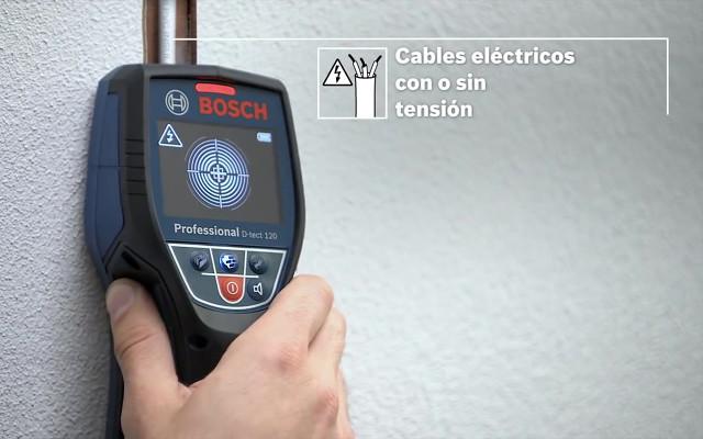 Detección de tubos eléctricos, con o sin electricidad