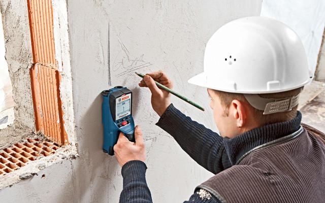 Escáner de pared - display