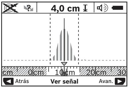 Visualización - escáner de pared