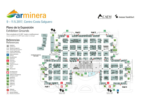 Arminera 2017 Buenos Aires - Plano