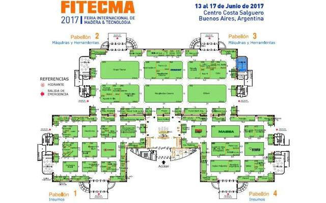 Fitecma 2017 Buenos Aires - Plano