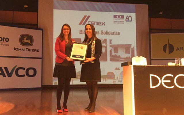 Premio a la Responsabilidad Social Camacol 2017 - Cemex