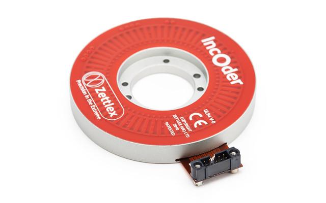 Encoder rotativo capacitivo