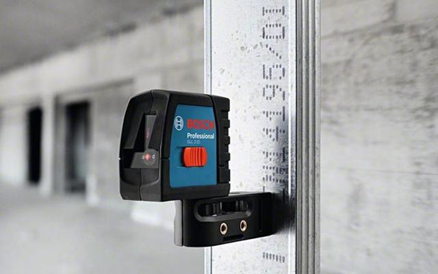 Nivel láser - aplicación en construcciones