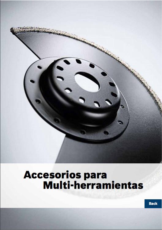 Catálogo de Accesorios para Multiherramientas – Bosch