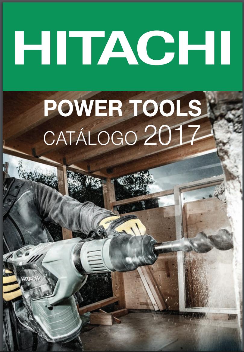 Catálogo de Herramientas Eléctricas Hitachi – México