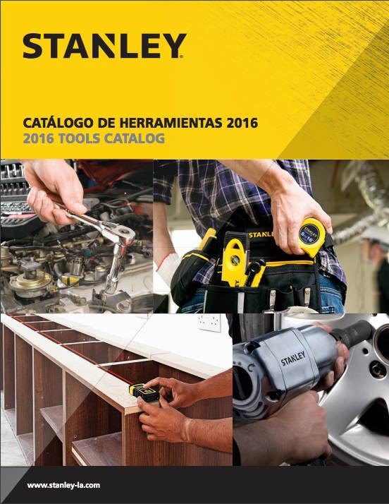 Catálogo de Herramientas Manuales – Stanley – 2016