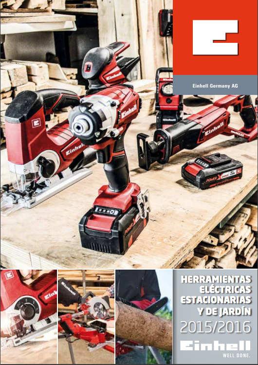 Catálogo de Herramientas Eléctricas – Einhell – 2016 – Argentina