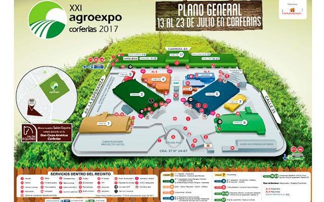 Agroexpo 2017 Colombia - Plano