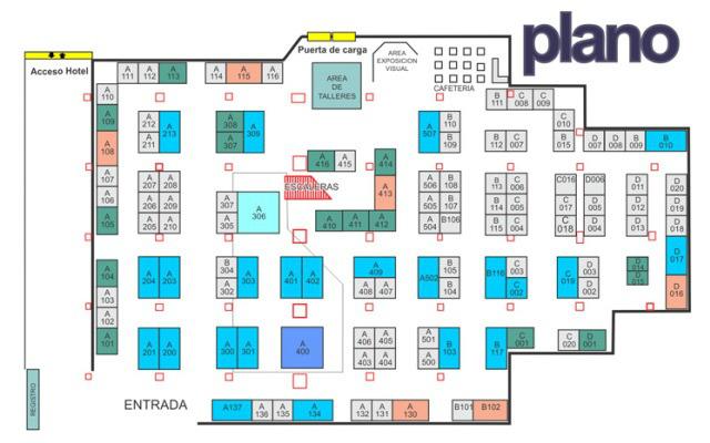Expo DECONARQ 2017 México - Plano