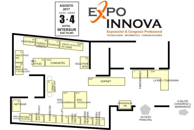 Expo INNOVA 2017 - Plano
