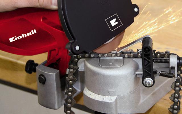Tope al disco - afilador de cadenas para motosierra