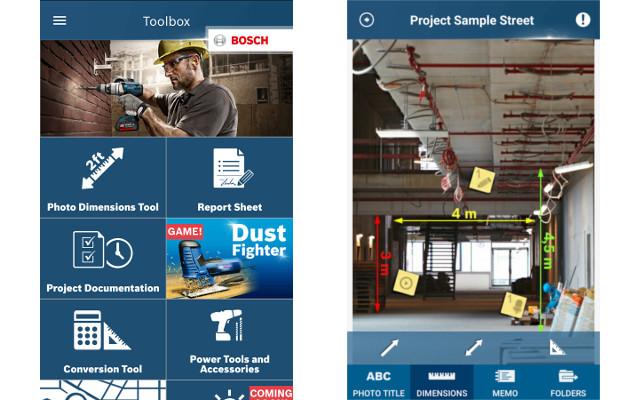 Bosch Suite - Apps de herramientas