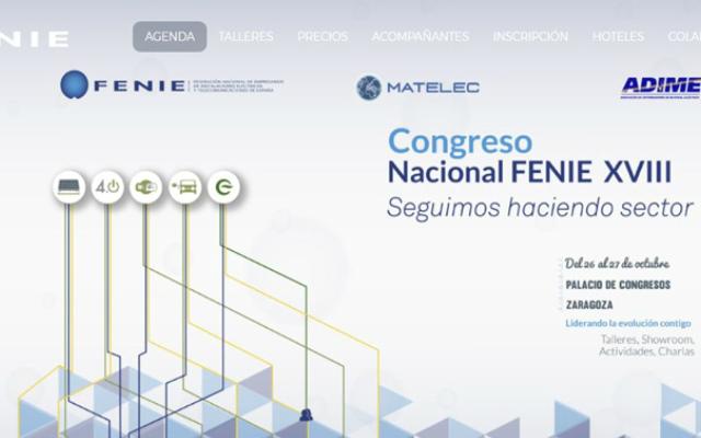 XXV Congreso 2017 de FENIE – España – Sector Eléctrico