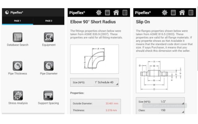 Pipeflex - App