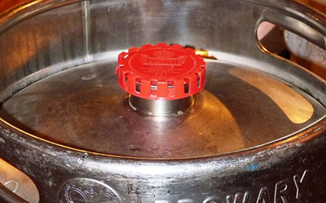 Tapa - soldadura de acero inoxidable en barril