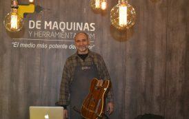 Luthería y herramientas, la primer presentación de DeMáquinas en ExpoFerretera