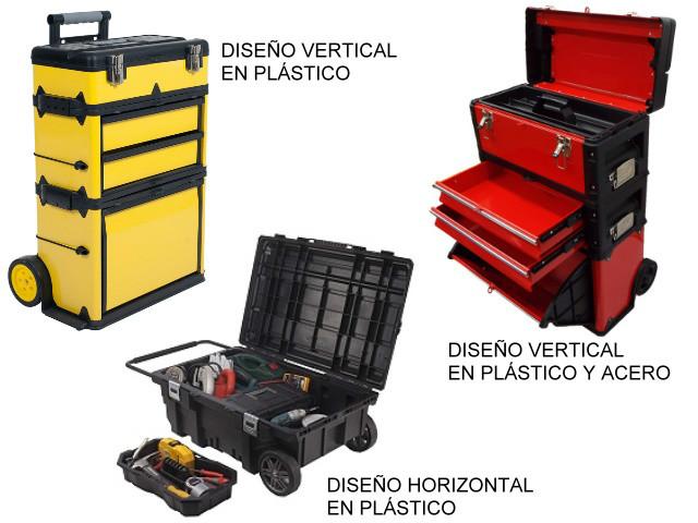 Carros de almacenamiento de herramientas