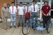 Cuando innovación, solidaridad y una bicicleta cambian una vida