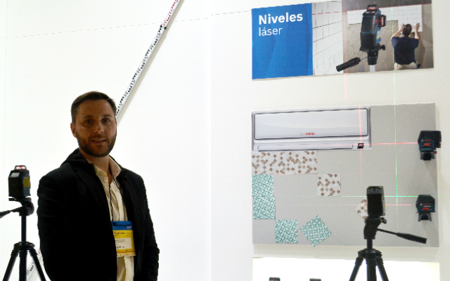 Interview Bosch/Medición: «Nos estamos enfocando mucho en la conectividad»