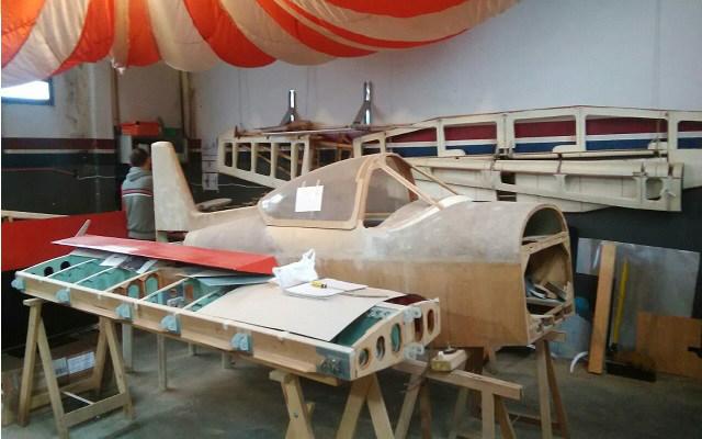 Avión - Construido por un miembro del AVEX