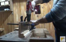 ¿Cómo hacer una mesa para taladro de columna?