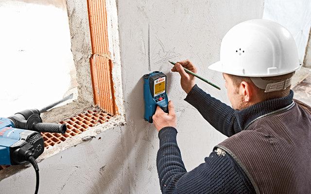 termodetectores, marcar y crear plano