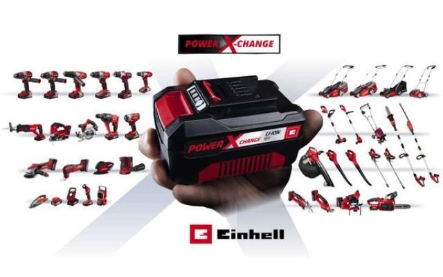 Einhell – Presenta su nuevos productos y la batería Power X-Change