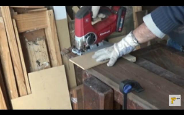 Cómo hacer una mesa con madera reciclada