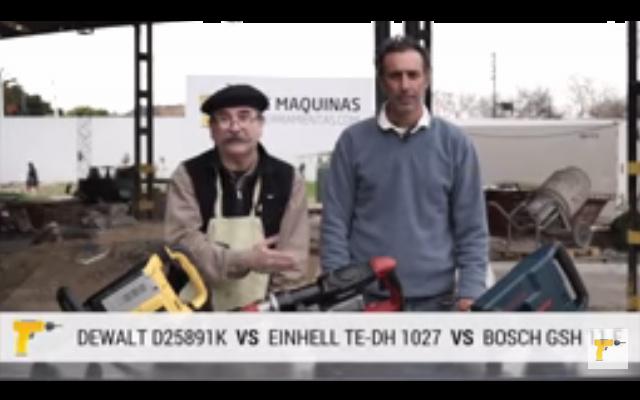 Comparativa de Rendimiento Tool Test Bosch - Einhell - DeWalt