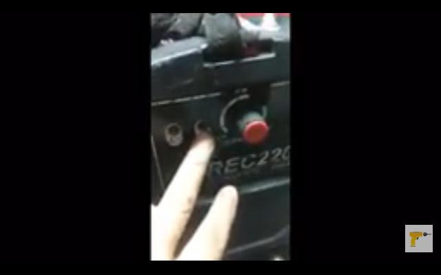 Revisión técnica de soldadora inverter
