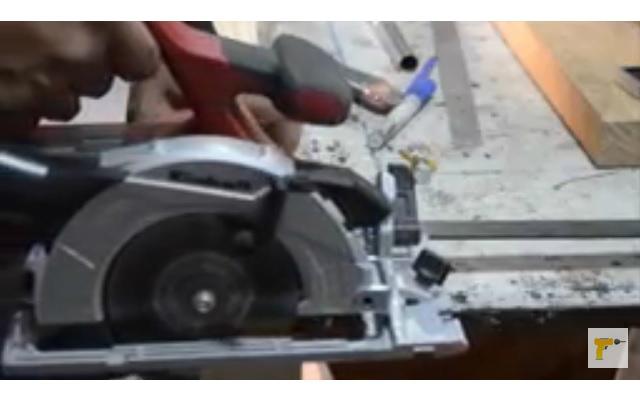 Guía para corte con sierra circular de mano