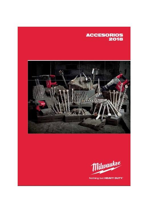 Catálogo de Accesorios – Milwaukee – 2018