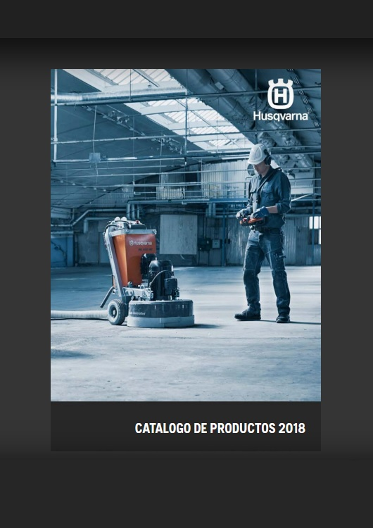 Catálogo de Herramientas – Husqvarna – 2018