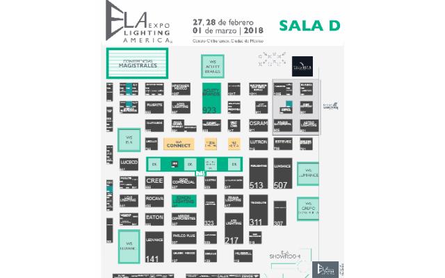 ELA Expo Lighting America 2018 México - Plano