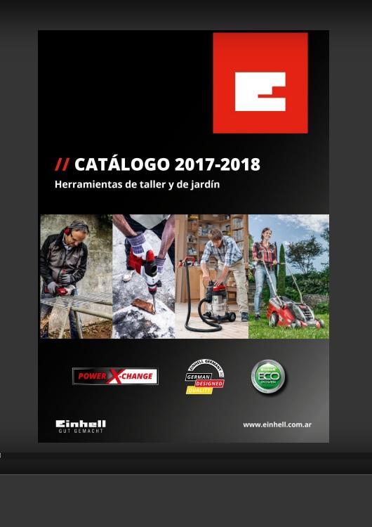 Catálogo de Herramientas – Einhell – 2017 / 2018