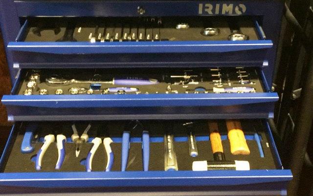 Presentación de linea de herramientas Irimo