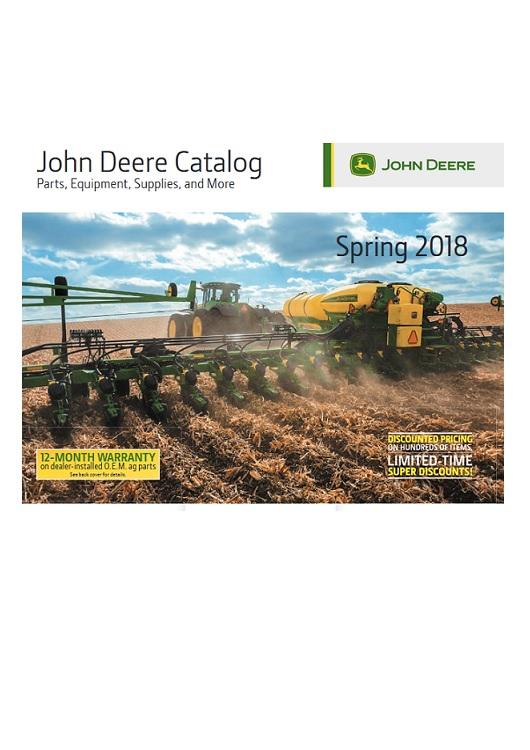 Catálogo John Deere Spring 2018