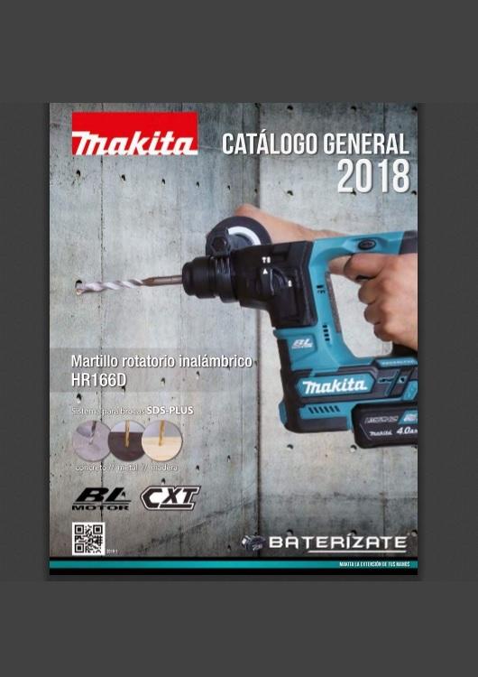 Catálogo de Herramientas – Makita – 2018
