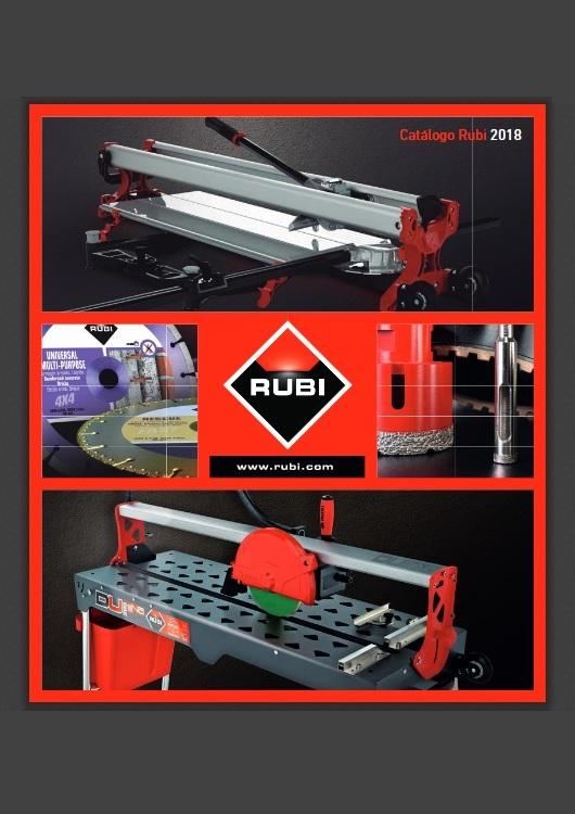 Catálogo de Herramientas – Rubi – 2018