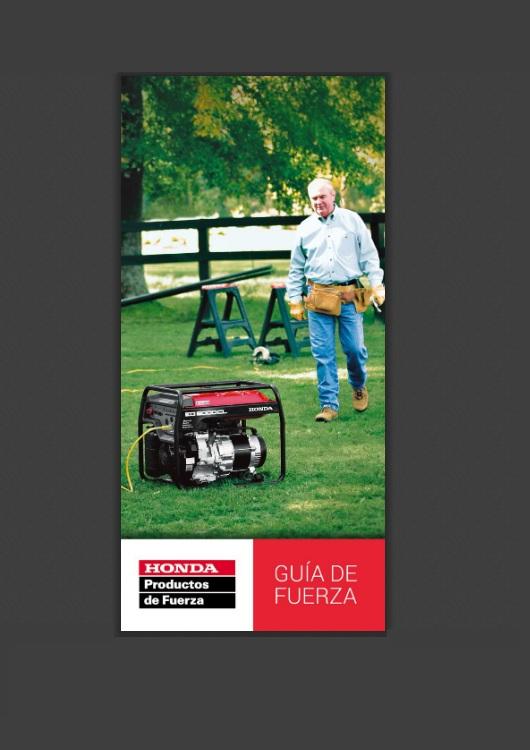 Catálogo de Herramientas – Honda