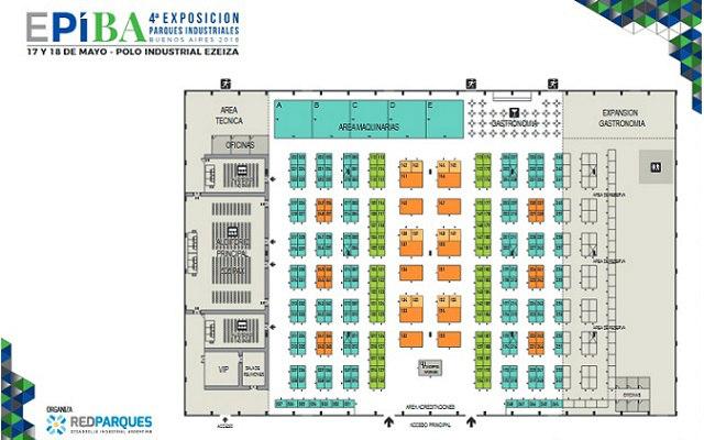 EPIBA 2018 Buenos Aires - Plano