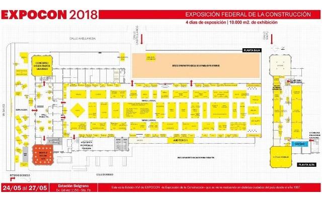 Expocon 2018 Argentina - Plano
