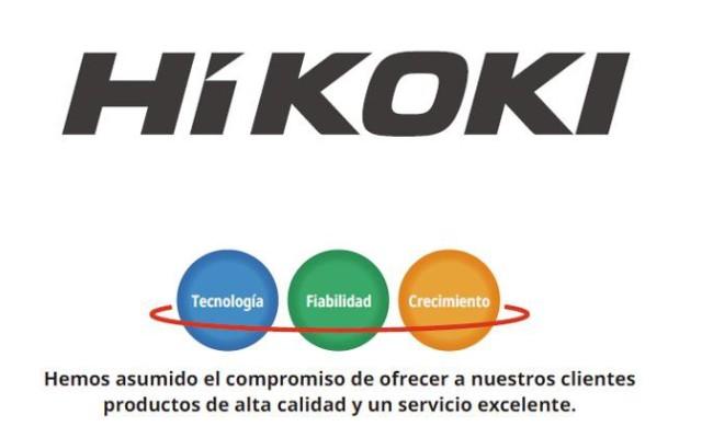 Hitachi cambiará a HiKOKI