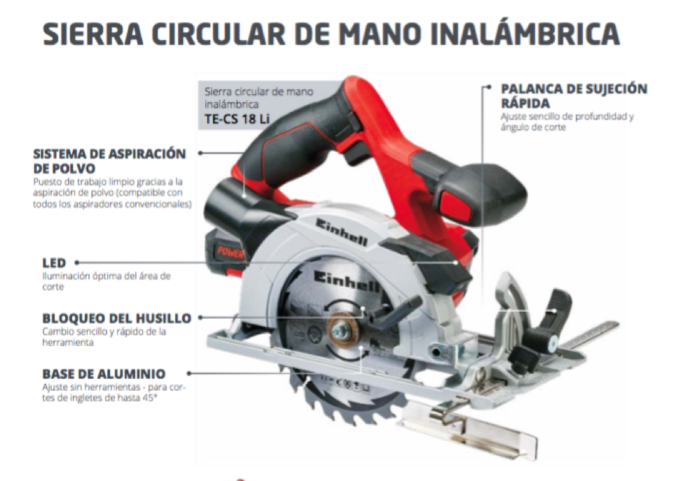 Review: Sierra Circular Einhell TE-CS 18 Li + Starter KIT PowerExchange