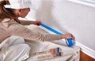 ¿Cómo usar una cinta para enmascarar pisos y paredes?