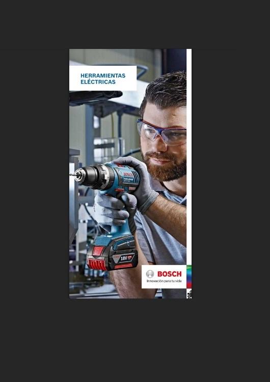 Catálogo de Herramientas Eléctricas – Bosch