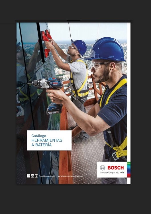 Catálogo de Herramientas a batería – Bosch